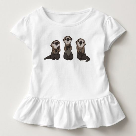 Finding Dory Otters Toddler T-shirt