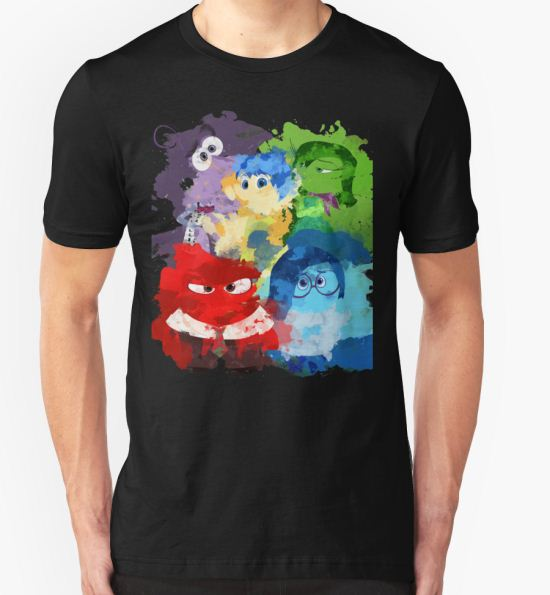 Inside Out T-Shirt by zcrb T-Shirt