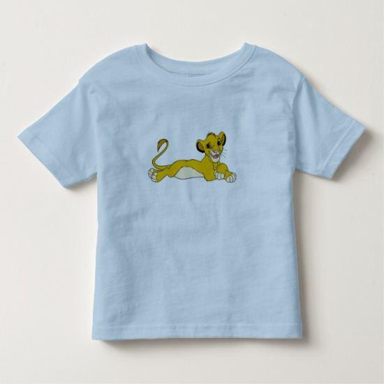 The Lion King's Simba lays down Disney Toddler T-shirt