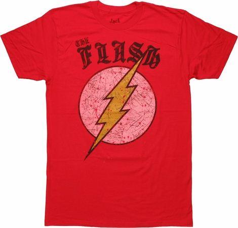 Flash Gothic Logo T Shirt Sheer