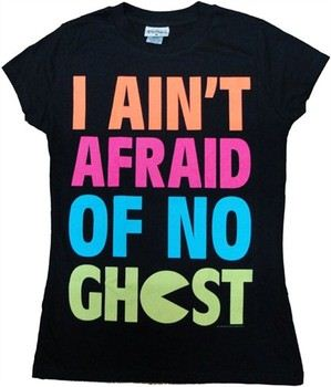 Pac-Man I Ain't Afraid of No Ghost Baby Doll Tee