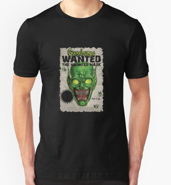 'the haunted mask goosebumps' T-Shirt by tylerjannafry T-Shirt