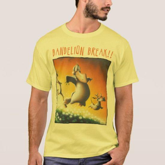 Dandelion Break! T-Shirt