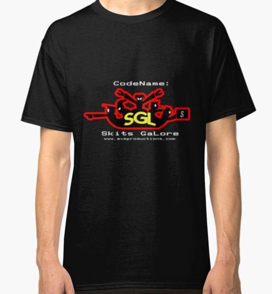 Codename: Skits GaLore! Classic T-Shirt by BaronVonRosco T-Shirt