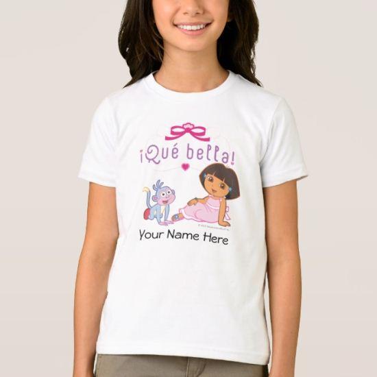 Dora The Explorer | Que Bella! T-Shirt