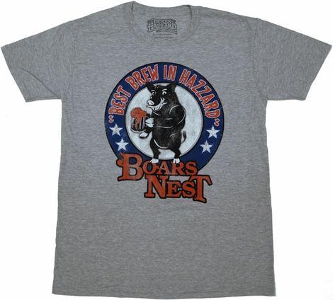 Dukes of Hazzard Boars Nest T Shirt Sheer