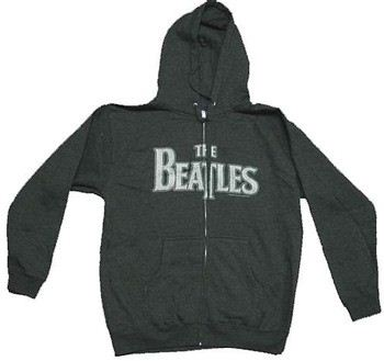 The Beatles Hooded Zipper Sweatshirt