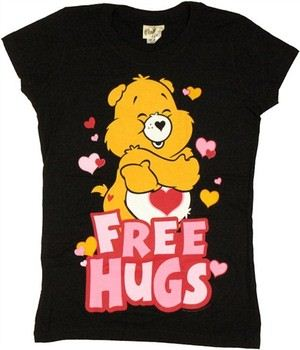 Care Bears Free Hugs Tenderheart Bear Baby Doll Tee