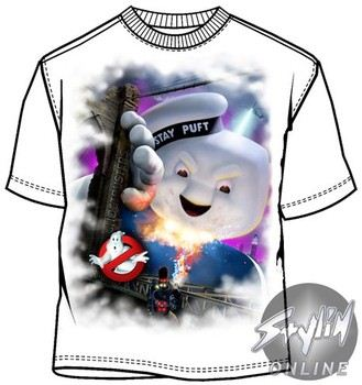 Ghostbusters Stay Puft Comic Con 2009 Exclusive T-Shirt