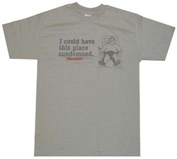 Office Space I Could Have This Place Condemned T-Shirt