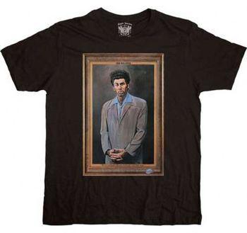 Seinfeld The Kramer Framed Black T-shirt