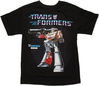 Transformers Megatron G1 Box Art T-Shirt