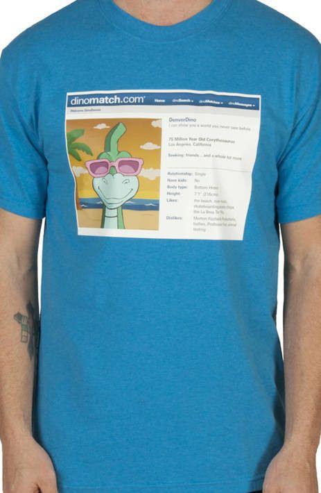 Dinomatch Denver the Last Dinosaur Shirt