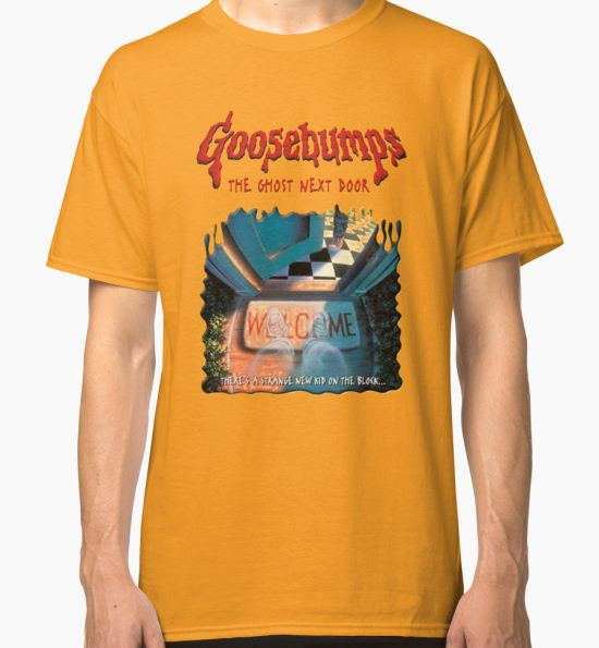 'the ghost next door goosebumps' Classic T-Shirt by litzywallace T-Shirt