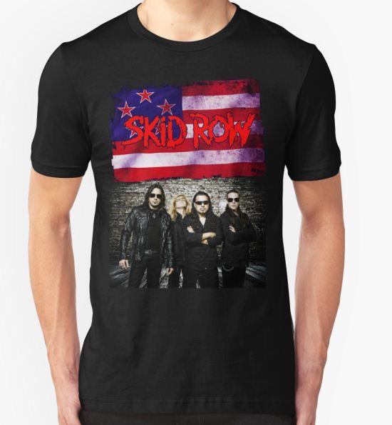 ANISUNO08 Skid Row Tour 2016 T-Shirt by anisuno16 T-Shirt