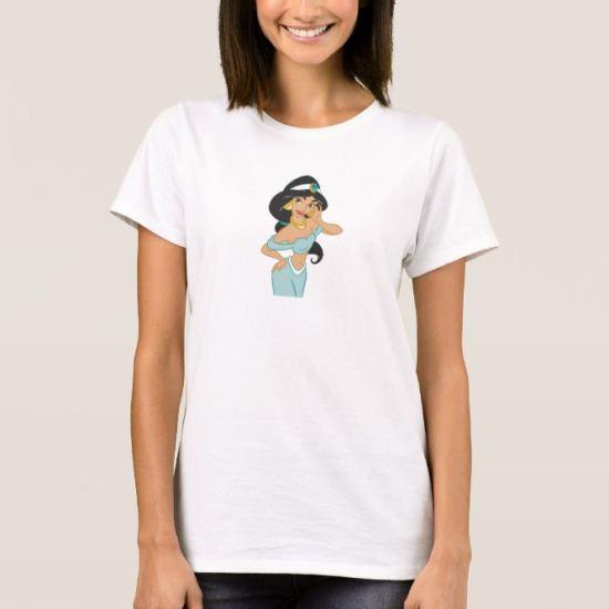 Aladdin Jasmine posing T-Shirt