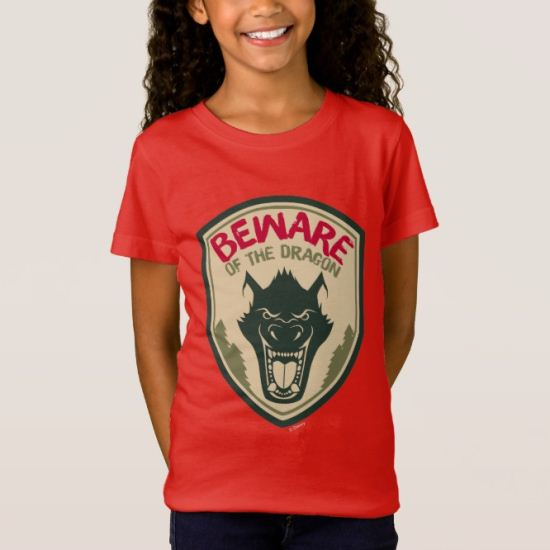 Pete's Dragon | Beware of the Dragon Badge T-Shirt