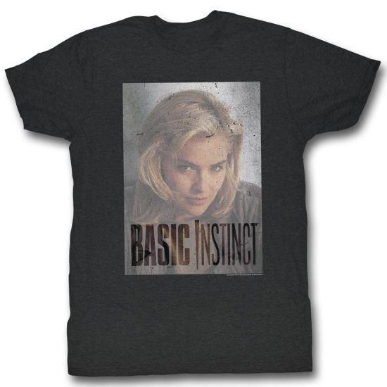 Basic Instinct Shirt Transparent Adult Black Tee T-Shirt