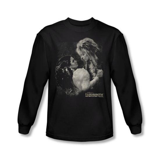 Labyrinth Shirt Dream Dance Long Sleeve Black Tee T-Shirt