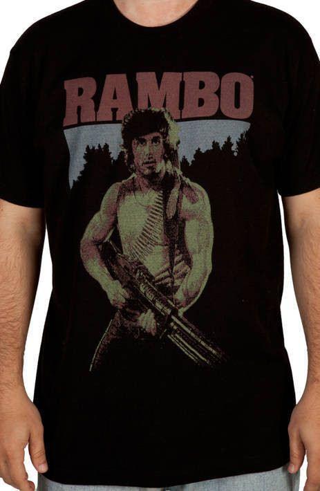 Rambo First Blood Shirt