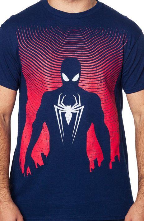 Silhouette Spider-Man T-Shirt