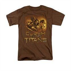 Clash Of The Titans Shirt Heroes Adult Coffee Tee T-Shirt