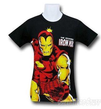 Iron Man Invincible Big Image 30 Single T-Shirt