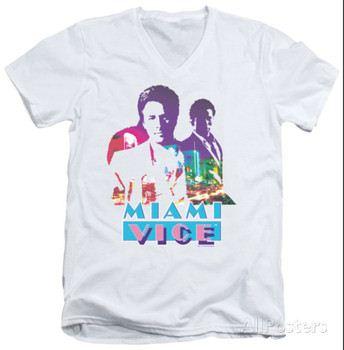 Miami Vice - Crockett And Tubbs V-Neck