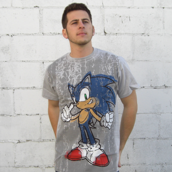 Sonic The Hedgehog Scribble T-Shirt