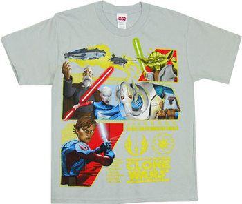 The Republic's Revenge - Star Wars Clone Wars Boys T-shirt