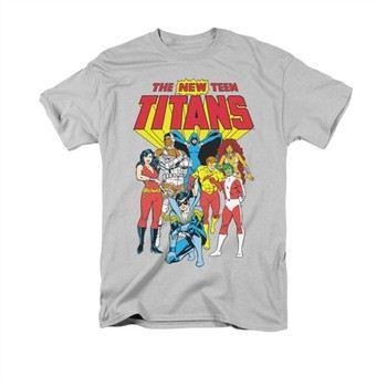 DC Comics Teen Titans New Group T Shirt