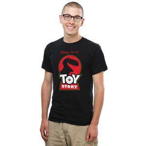 Jurassic Toy Story T-Shirt - Black