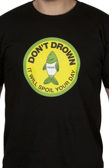 Black Freddie The Fish Shirt