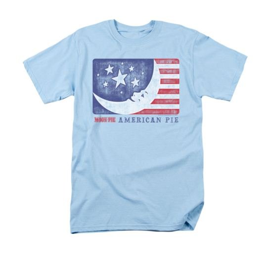 Moon Pie Shirt American Pie Light Blue T-Shirt