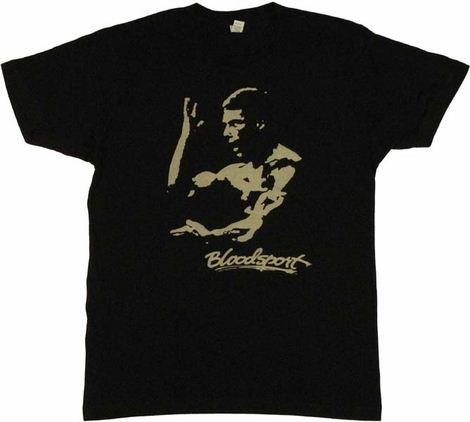 Bloodsport Van Damme T Shirt Sheer