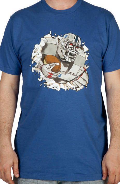 Transformers Megatron Football Shirt