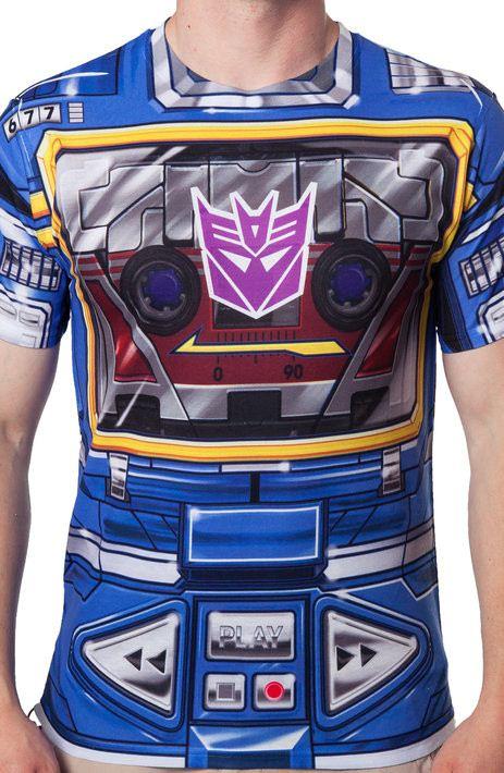 Sublimation Soundwave Costume T-Shirt