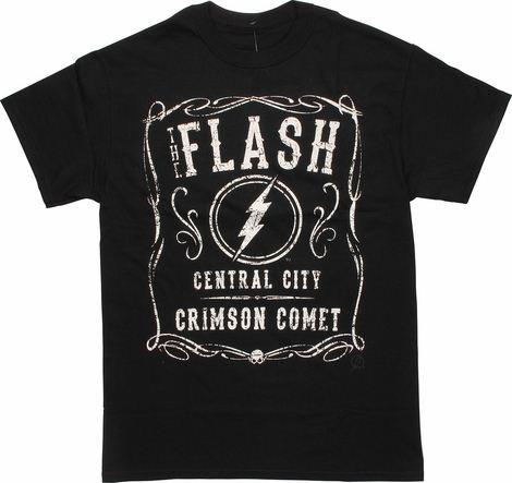 Flash Crimson Comet Filigree T-Shirt