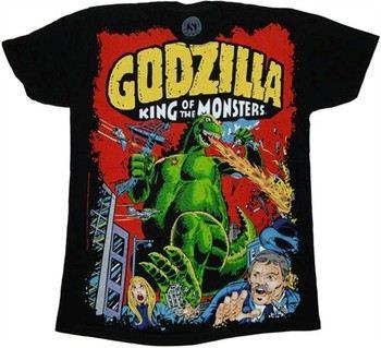 Godzilla Street Stomp Attack T-Shirt
