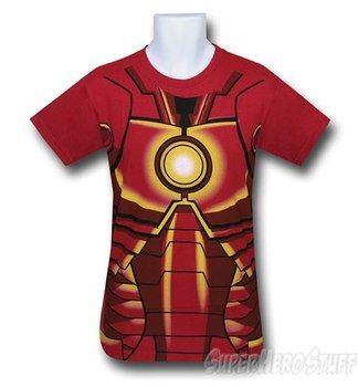 Iron Man I Am Iron Man 30 Single Costume T-Shirt