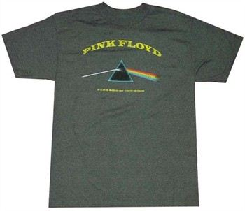 Pink Floyd Dark Side of the Moon Distressed T-Shirt