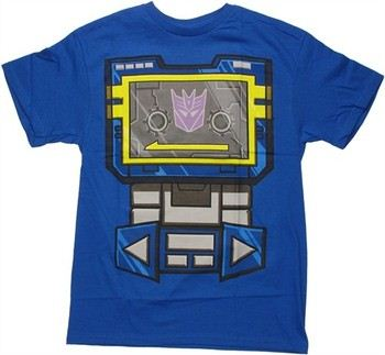 Transformers Soundwave Costume Suit T-Shirt