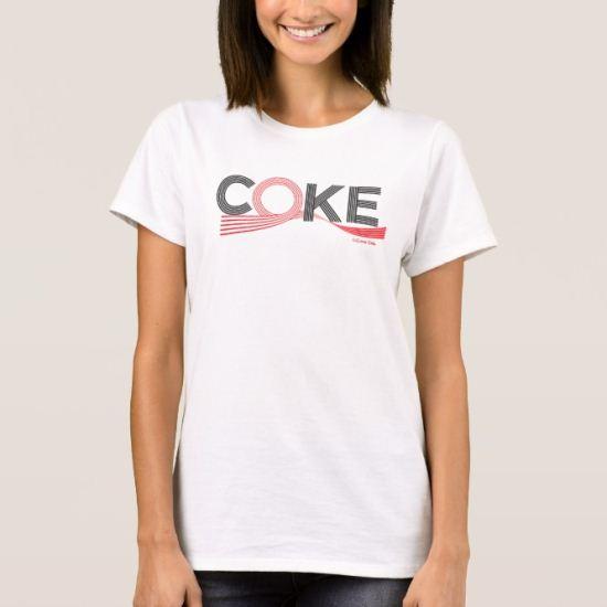 Coke Wave Ribbon T-Shirt