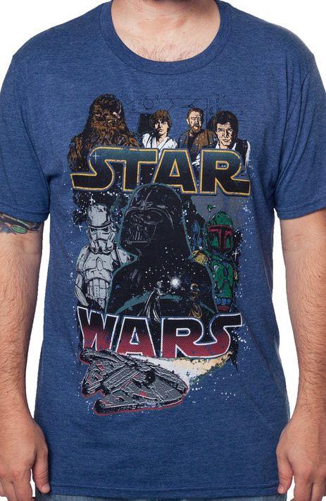 Star Wars Heroes And Villains T-Shirt