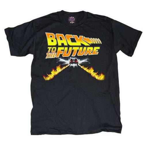 Flux Capacitor Time Travel Car Back 50s Invention In Go Possible Men/'s T-Shirt