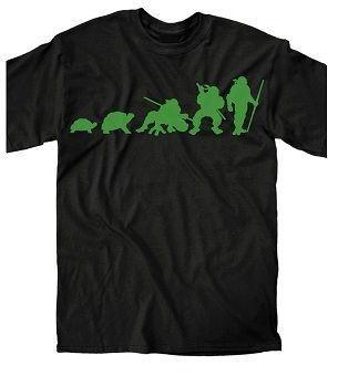 Teenage Mutant Ninja Turtles Ninja Evolution Adult T-Shirt