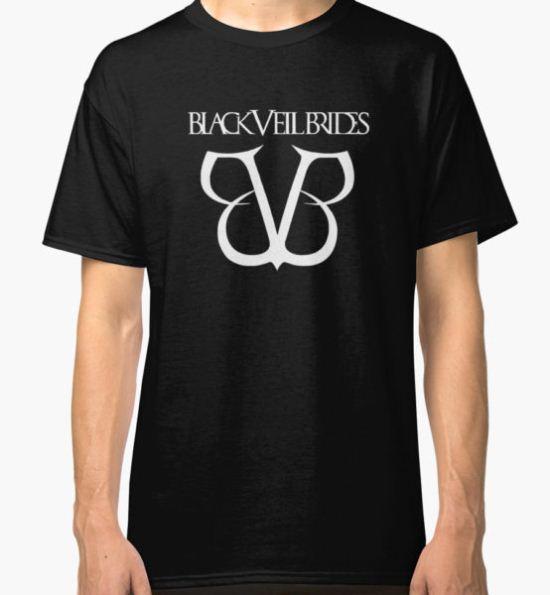 Black Veil Brides Classic T-Shirt by dimitir T-Shirt