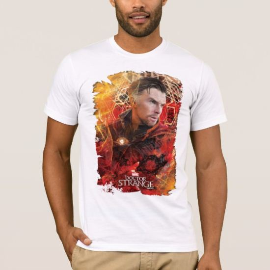 Doctor Strange Worn Mystical Graphic T-Shirt