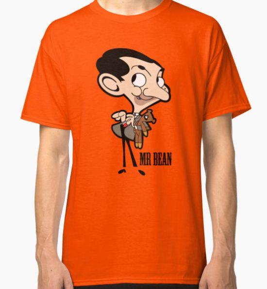 Mr Bean - Cartoon Classic T-Shirt by MonkeyKingkong T-Shirt