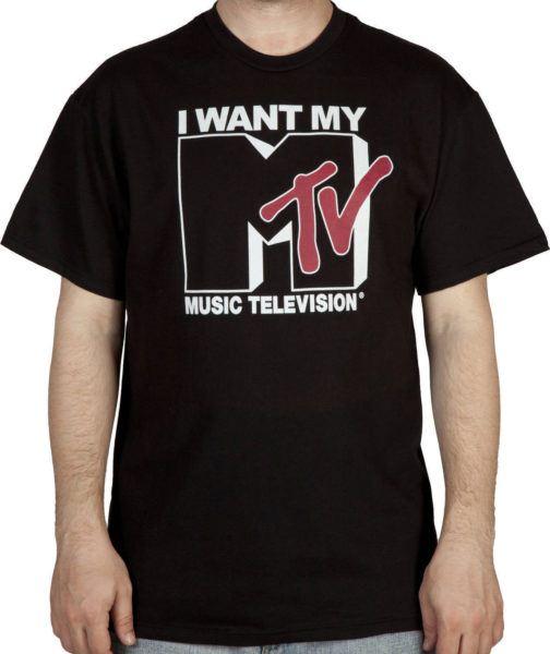 I Want My MTV Shirt
